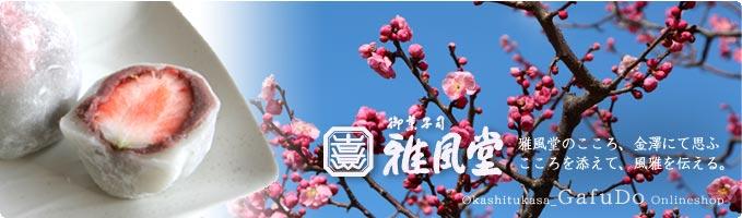 雅風堂 雅風堂のこころ、金澤にて思ふ こころを添えて、風雅を伝える。バレンタイン限定販売 チョコっと餅